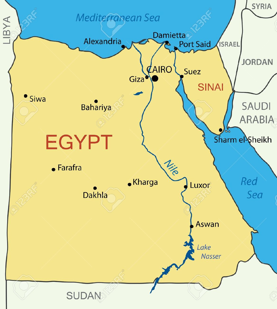 Egypt Is A Beautiful Country And Has A Very Rich History - What country is egypt in