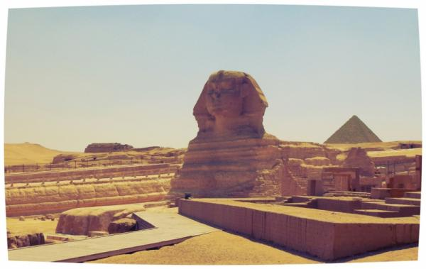 Great Sphinx Of Ancient Efgypt