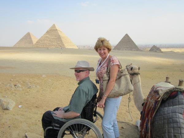 Wheelchair Cairo and Nile Cruise Tour