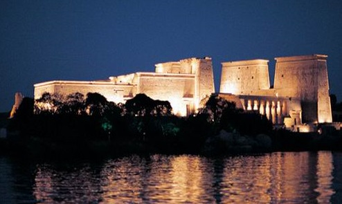 Sound & Light Show at Philae Temple